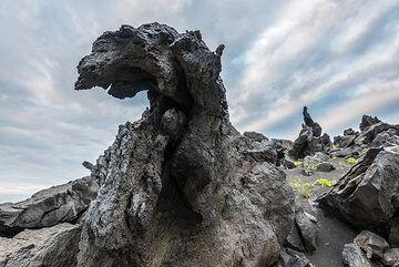 Lava sculptures (Photo: Tom Pfeiffer)