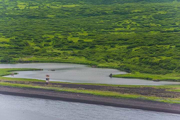 Remnants of abandoned settlements near Taketomi on Atlasof Island (Photo: Tom Pfeiffer)