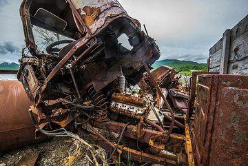 Detail of the truck (Photo: Tom Pfeiffer)