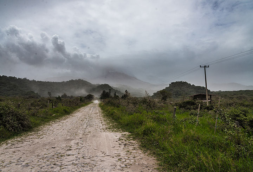 View from San Antonio village. (Photo: Tom Pfeiffer)