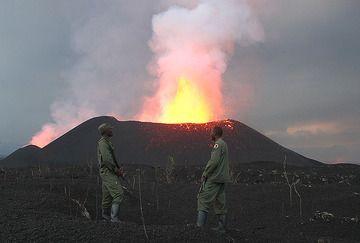 Guardians of Nyamulagira. (Photo: Paul Hloben)