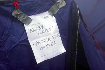 """Part of the """"Angry Planet"""" documentary series was produced here. (Photo: Tom Pfeiffer)"""