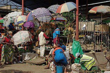 Market in Arusha (Photo: Philip Benham)