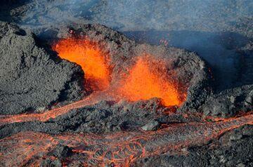 Piton de la Fournaise Vulkan - Ausbruch im Oktober 2010 (Photo: Sylvie & Philippe Choukroun)