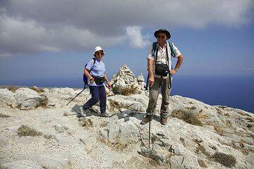 On the shoulder of Profitis Ilias mountain (Photo: Tom Pfeiffer)
