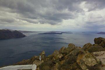 Santorini Island (Cyclades, Greece): Fascination Volcano Tour Oct 2011 (Photo: Tom Pfeiffer)
