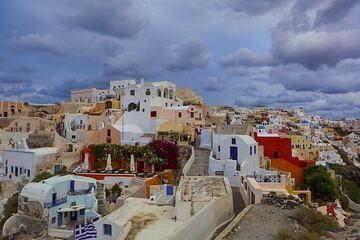 Oia town, Santorini (Photo: Tom Pfeiffer)