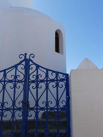 Blue and white - Aegean architecture (Photo: Ingrid Smet)