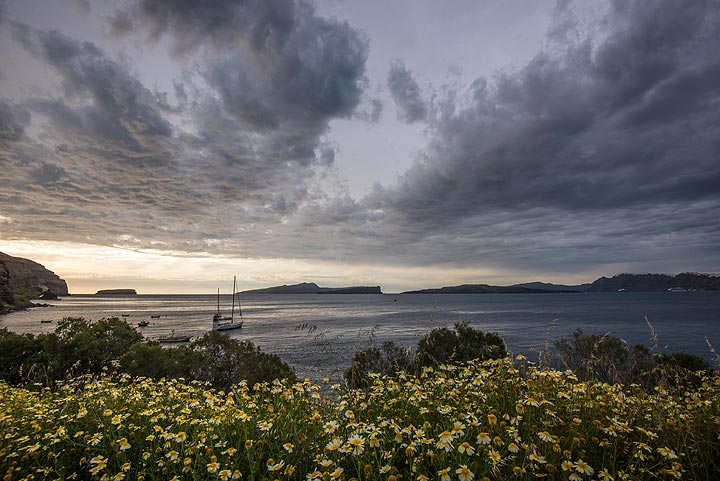 Sky clearing up in the west. (Photo: Tom Pfeiffer)