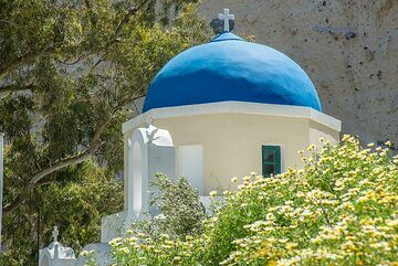 Close-up view of the blue dome. (Photo: Tom Pfeiffer)