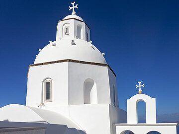 Agios Minas church in old Thira. (Photo: Tobias Schorr)
