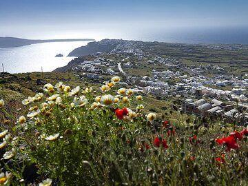 Spring view to the village of Ia. (Photo: Tobias Schorr)