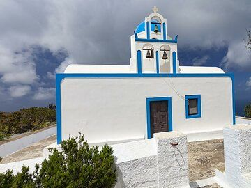 The church of little Prophitis Ilias. (Photo: Tobias Schorr)