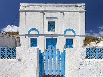 Captain´s house on Thirasia island. (Photo: Tobias Schorr)
