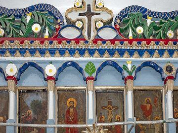 Inside the church Agios Charalambos. (Photo: Tobias Schorr)