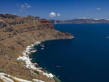 The Korfos area on Thirasia island. (Photo: Tobias Schorr)
