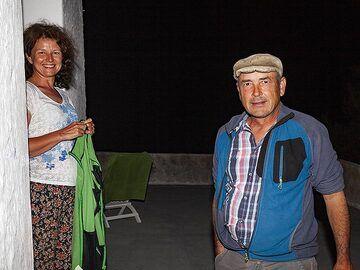 Tom Pfeiffer & Marina. (Photo: Tobias Schorr)