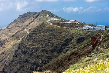 View of Mikro Profitis Ilias mountain. (Photo: Tom Pfeiffer)