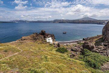 View back down to Balos bay (Photo: Tom Pfeiffer)