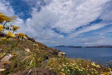 Back on the caldera rim (Photo: Tom Pfeiffer)