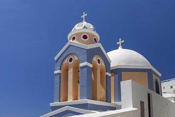 The chapel Agios Stylianos at Thira town. (Photo: Tobias Schorr)