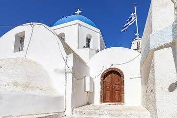 The church of Christos in Pyrgos village. (Photo: Tobias Schorr)