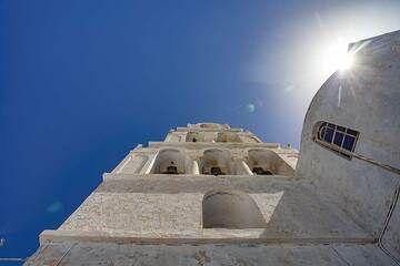 The church Agia Theodosia in Pyrgos village. (Photo: Tobias Schorr)