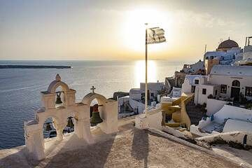 The most photographed chapel in Oia.  (Photo: Tobias Schorr)