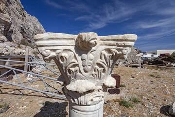 An early Christian column at Perisa village. (Photo: Tobias Schorr)