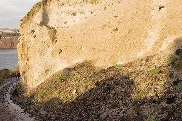 The Minoan pumice deposit (Photo: Tom Pfeiffer)