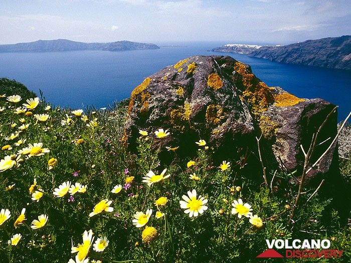 A view into the caldera in spring (Photo: Tobias Schorr)