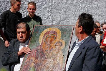 El icono de María y Jesús (Photo: Tom Pfeiffer)