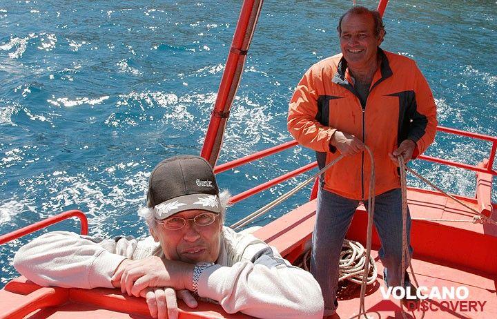 Günter und Sostis (Photo: Tom Pfeiffer)