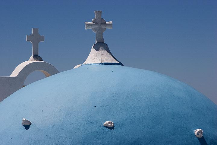 Santorin im April-Mai 2007 (Faszination Vulkan Reise) (Photo: Tom Pfeiffer)