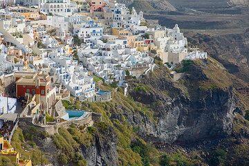Part 3: Fira-Oia (Faszination Volcano, Santorini walking tours 2008) (Photo: Tom Pfeiffer)