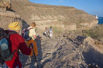On the way to Mesa Pigaria beach (Photo: Tom Pfeiffer)