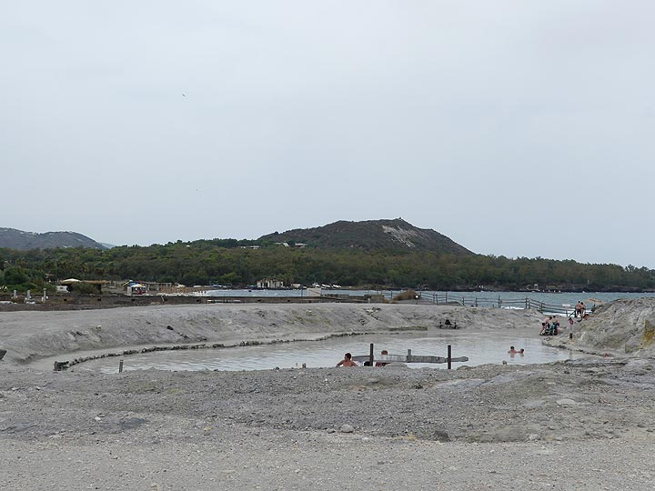 Ongoing volcanic activity on Vulcano island is reflected in the many areas of fumarolic activity and the hydrothermal mud baths along the beach near Vulcanello. (Photo: Ingrid Smet)