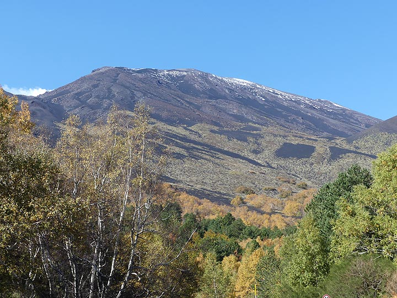 Etna's NE crater seen from the volcano's lower eastern slopes. (Photo: Ingrid Smet)