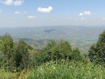 Day 2 - Beautiful scenery along the way from Kigali to Goma  (Photo: Ingrid Smet)