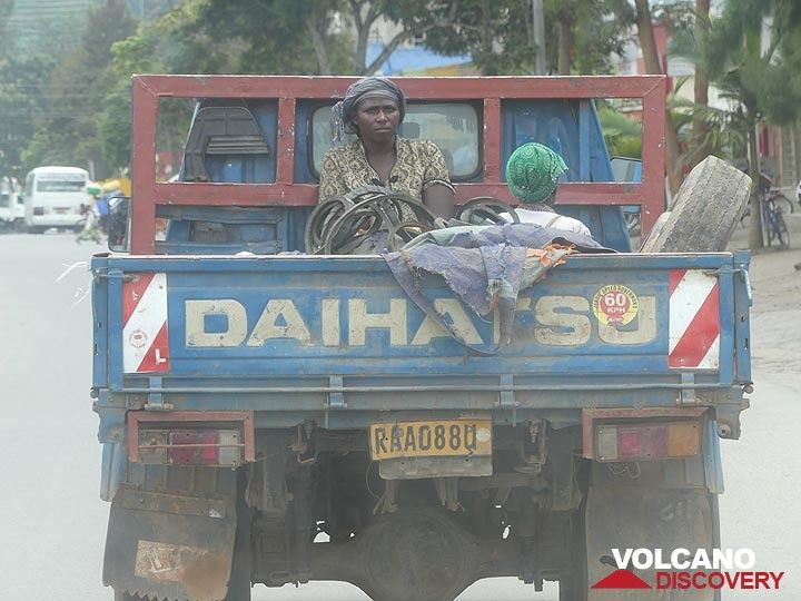 Day 2 - One of many local ways of transport (Photo: Ingrid Smet)