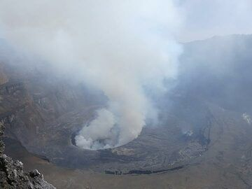 Day 4 - Overview of the central part of Nyiragongo´s summit caldera (Photo: Ingrid Smet)