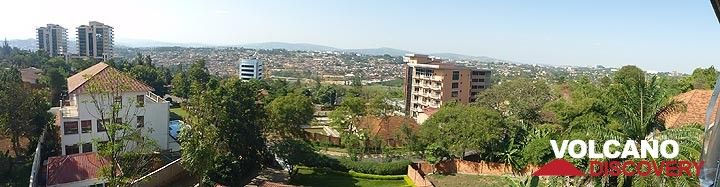 Day 8 - From across parts of Kigali from the goodbye lunch location (Photo: Ingrid Smet)