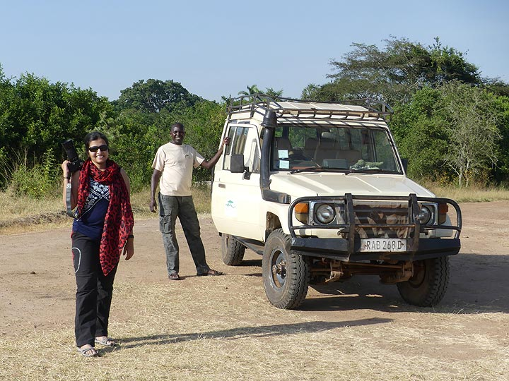 Akagera NP extension - enjoying our game drive crossing the entire park from north to south (Photo: Ingrid Smet)