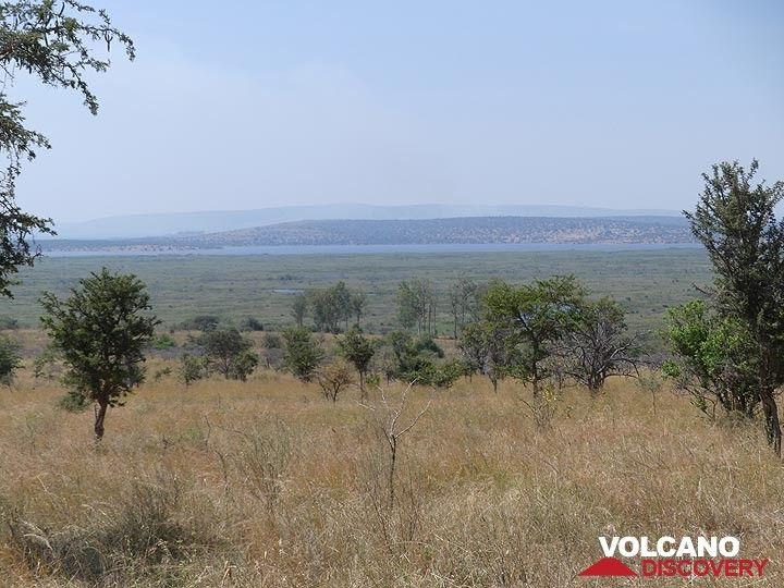 Akagera NP extension - view across the savanna to Lake Ihema and Tanzania beyond  (Photo: Ingrid Smet)