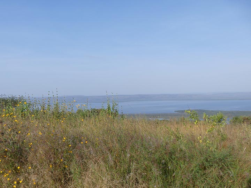 Akagera NP extension - evening view across lake Ihema (Photo: Ingrid Smet)