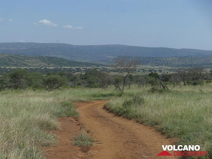 Akagera NP extension - drving to the park´s exit (Photo: Ingrid Smet)