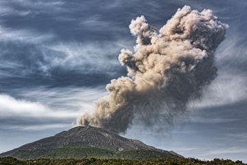 Eruption of Sakurajima in March 2018 (Photo: Ivana Dorn)