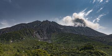 Panorama of Sakurajima from the west (Photo: Ivana Dorn)