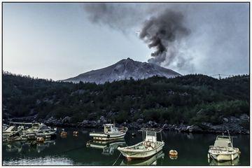 View of Sakurajima from the eastern shore of the peninsula (Photo: Ivana Dorn)