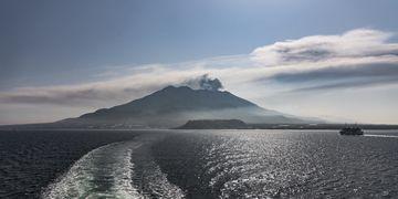 On the Sakurajima ferry (Photo: Ivana Dorn)